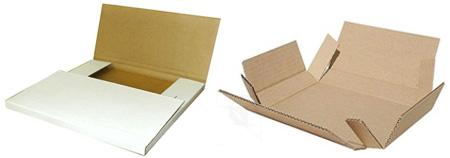 Как сделать плоскую коробку из картона